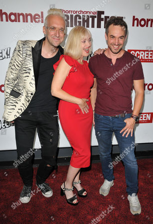 Editorial picture of 'Replace' film premiere, Arrivals, London, UK - 27 Aug 2017