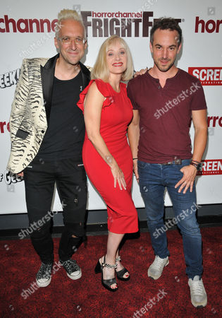 Editorial image of 'Replace' film premiere, Arrivals, London, UK - 27 Aug 2017