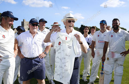 Editorial image of Sir Michael Parkinson's XI v Lord's Taverners, Charity Cricket Match, Maidenhead and Bray Cricket Club, UK - 27/08/2017