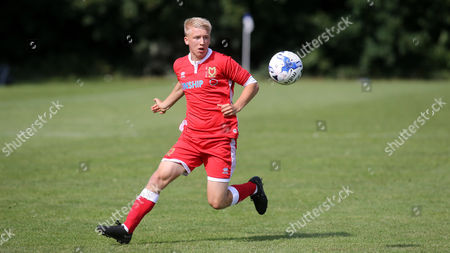 Bradley Bell of MK Dons during Gillingham Under-18 vs Milton Keynes Dons Under-18, EFL Youth Alliance Football at Beechings Cross, Gillingham FC Training Ground on 26th August 2017