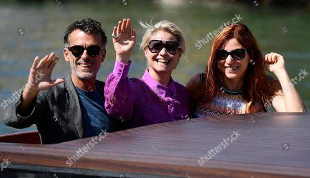 Thomas Trabacchi, Trine Dyrholm and Susanna Nicchiarelli