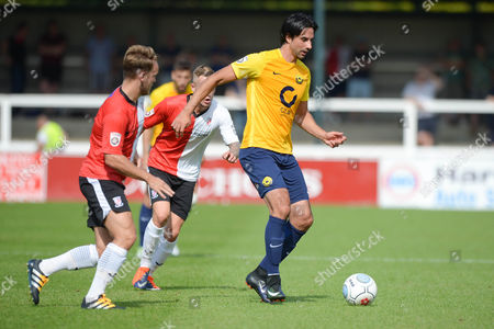 Rory Fallon Of Torquay United in action during the Vanarama National League match between Woking and Torquay United at the Laithwaite Community Stadium on August 28 2017 in Woking, England. (Photo by Gareth Davies/PPAUK)