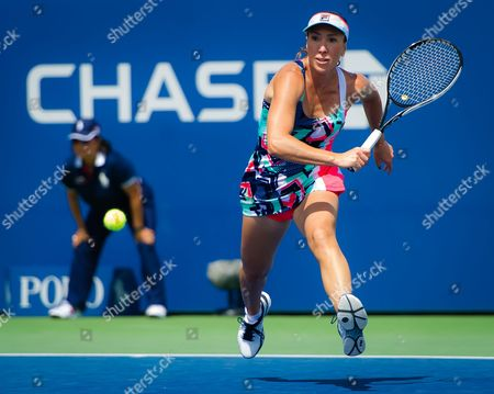 Editorial picture of US Open Tennis Championships, Day 1, New York, USA - 28 Aug 2017