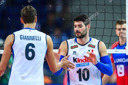 Simone Giannelli, Filippo Lanza of Italy