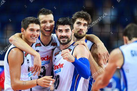 Luca Spirito, Daniele Mazzone, Filippo Lanza, Luca Vettori of Italy