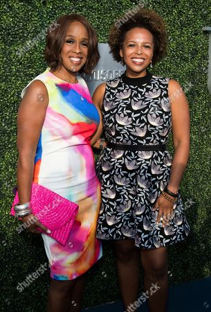 Gayle King, Kirby Bumpus Gayle King and Kirby Bumpus attend the opening night ceremony of the 2017 U.S. Open Tennis Championships at the USTA Billie Jean King National Tennis Center, in New York