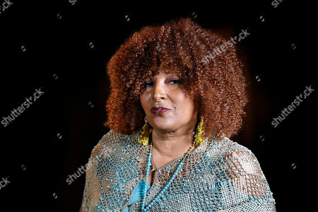 "Actress Pam Grier is interviewed by The Associated Press in Washington. Grier is still going strong in an almost 50 year movie and television career. In an interview with The Associated Press last week, she discussed some of the changes in Hollywood and the return of the female action movie star. ""I don't know why people were surprised at the success of 'Wonder Woman,'"" said Grier, star of gritty 1970s action movies like ""Foxy Brown,"" ""Coffy,"" ""Black Mama/White Mama,"" and others"