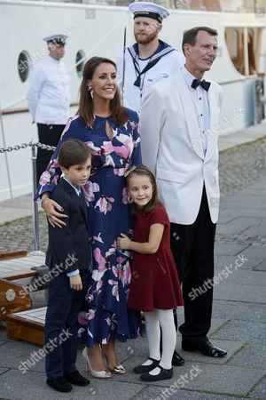 Prince Joachim, Princess Marie, Prince Henrik, Princess Athena