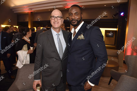Greg Foster, Imax Entertainment CEO, and Eme Ikwuakor