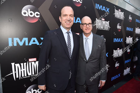 Ben Sherwood, Co-Chairman, Disney Media Networks / President, Disney-ABC Television Group, and Greg Foster, Imax Entertainment CEO