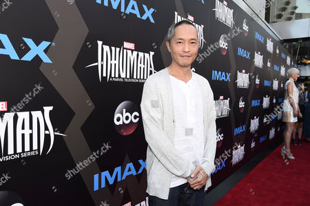 Editorial image of Marvel's Inhumans - The First Chapter in IMAX World Premiere, Los Angeles, USA - 28 Aug 2017