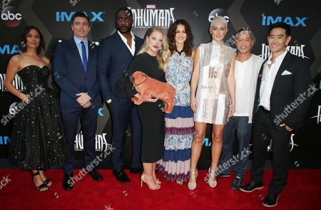 Editorial photo of 'Inhumans' TV show premiere, Arrivals, Los Angeles, USA - 28 Aug 2017