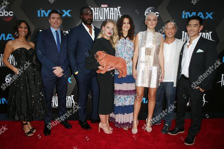 Editorial picture of 'Inhumans' TV show premiere, Arrivals, Los Angeles, USA - 28 Aug 2017