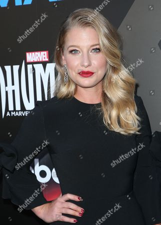Editorial image of 'Inhumans' TV show premiere, Arrivals, Los Angeles, USA - 28 Aug 2017