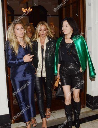Nikkie Plessen, Kate Moss, Carina Lau