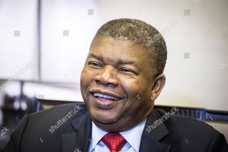 Angolan President Joao Lourenco during an interview with Agencia Efe news agency, in Madrid, Spain, 28 August 2017 (issued 29 August 2017). Lourenco, who will succeed Jose Eduardo Dos Santos after 38-years rule, is on a private visit to Spain. He said he will open Angola to foreign investment, will privatize companies and will strengthen the way to the free market.