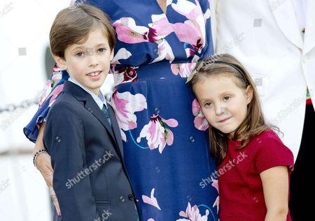 Prince Henrik and Princess Athena