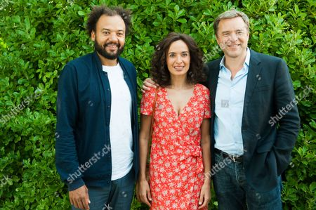 Editorial image of Coexister photocall, Francophone Film Festival, Angouleme, France - 26 Aug 2017