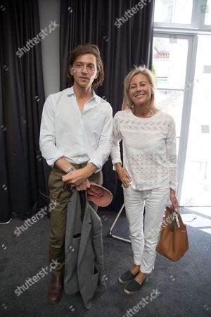 Claire Chazal and Raphael