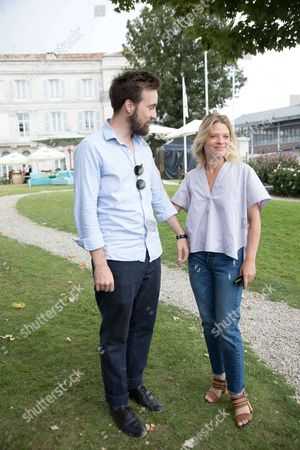 Gregoire Leprince-Ringuet and Melanie Thierry