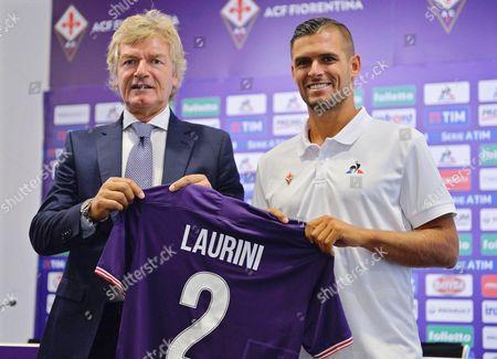 Vincent Laurini and Giancarlo Antognoni