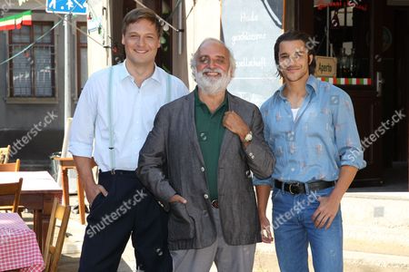 """Editorial photo of Photocall on the set of the movie """"Bella Germania"""", Munich, Germany - 29 Aug 2017"""