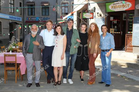 """Editorial picture of Photocall on the set of the movie """"Bella Germania"""", Munich, Germany - 29 Aug 2017"""