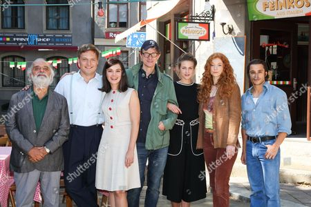 """Editorial image of Photocall on the set of the movie """"Bella Germania"""", Munich, Germany - 29 Aug 2017"""