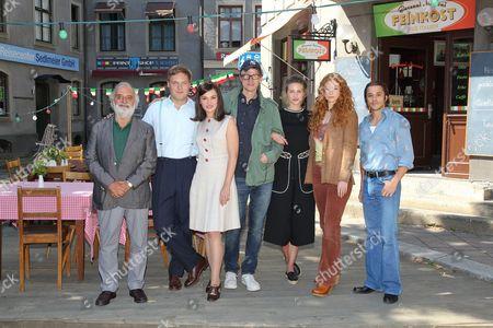 Stock Image of Alessandro Bressanello, Christoph Letkowski, Silvia Busuioc, Gregor Schnitzler, Natalia Belitski, Marleen Lohse, Kostja Ullmann, ..