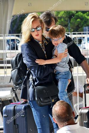 Eva Riccobono, Matteo Ceccarini and son, Leo