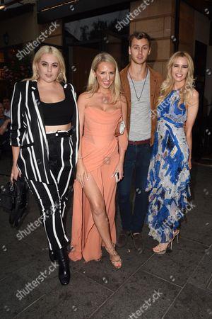 Felicity Hayward, Naomi Isted, Barney Banks and Olivia Arben