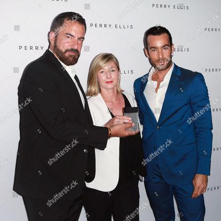 Michael Maccari, Melissa Worth and Aaron Diaz