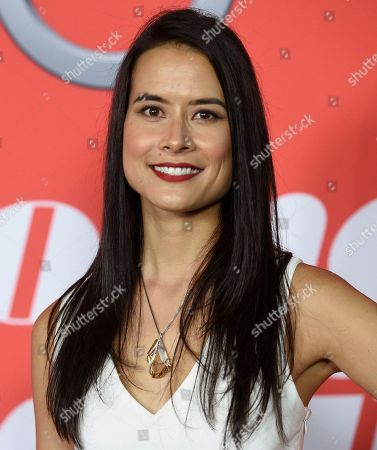 "Stock Photo of Shi Ne Nielson arrives at the Los Angeles premiere of ""Home Again"" at the DGA Theater, in Los Angeles"