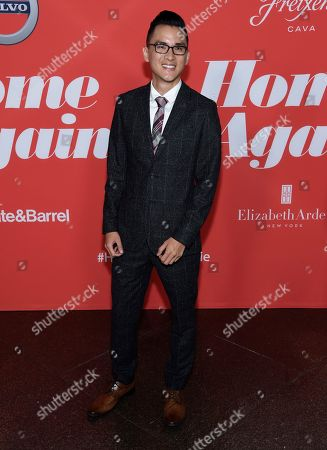 """Hank Chen arrives at the Los Angeles premiere of """"Home Again"""" at the DGA Theater, in Los Angeles"""
