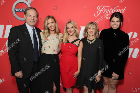 Tom Ortenberg, Chief Executive Officer of Open Road Films, Hallie Meyers-Shyer, Director/Writer, Reese Witherspoon, Nancy Meyers, Producer, Erika Olde, Producer,