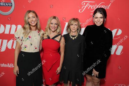 Hallie Meyers-Shyer, Director/Writer, Reese Witherspoon, Nancy Meyers, Producer, Erika Olde, Producer,