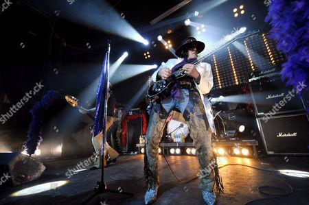 Stock Photo of Hanoi Rocks - Andy McCoy.