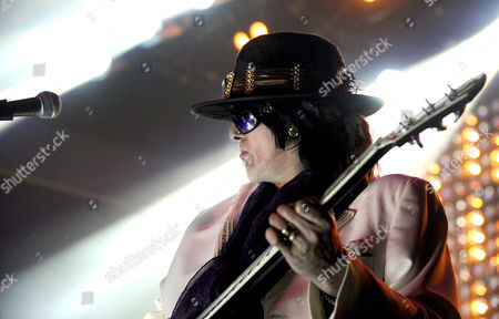 Stock Picture of Hanoi Rocks - Andy McCoy.