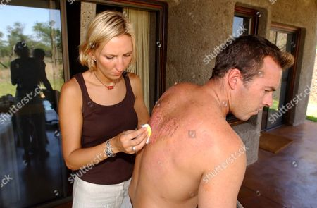 Editorial picture of Julie Stevens Who Was Kidnapped And Raped By A Gang Of Men In South Africa Julie Was Travelling To A Local Beauty Spot At Long Tom Pass With Her Boyfriend Tinus Opperman When The Gang Struck. Picture Shows Julie Still In South Africa After Enduring 1