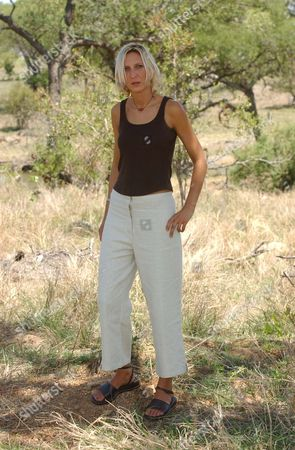 Julie Stevens Who Was Kidnapped And Raped By A Gang Of Men In South Africa Julie Was Travelling To A Local Beauty Spot At Long Tom Pass With Her Boyfriend Tinus Opperman When The Gang Struck. Picture Shows Julie Still In South Africa After Enduring 14 Hours Of Horrific Crime Inflicted On Her And Her Friend Tinus.  22/11/02.