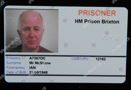 Mp And Former Prisoner Denis Macshane Pictured At Brixton Prison And With His Prisoner's Identity Card.