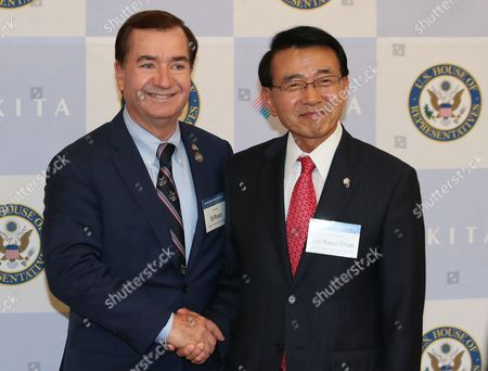 Shim Jae-kwon and Ed Royce