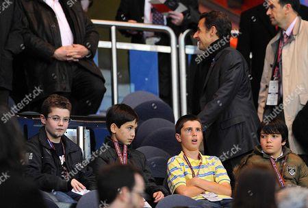 Louis Sarkozy and father, French president Nicolas Sarkozy