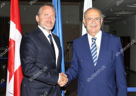 Ioannis Kasoulides and Anders Samuelsen