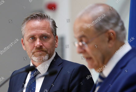 Editorial image of Danish Minister for Foreign Affairs Anders Samuelsen visits Cyprus, Nicosia - 30 Aug 2017