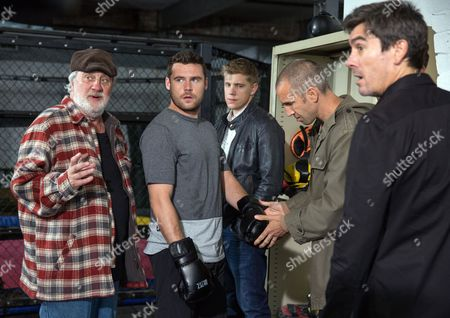 Ep 7921 Tuesday 29th August 2017 Aaron Dingle, as played by Danny Miller, discovers Robert Sugden, as played by Ryan Hawley, tried to pay Jason, as played by Samuel Edward-Cook, off and is furious with him and After a pep talk from Zak Dingle, as played by Steve Halliwell, and Adam Barton, as played by Adam Thomas, Aaron steps into the ring...