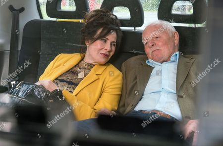 Ep 7920 Monday 28th August 2017 When Faith Dingle, as played by Sally Dexter, tries to kiss him Pollard, as played by Christopher Chittell, recoils leaving her assuming he's been put off her by her mastectomy. Will the couple be able to overcome their worries about each other?