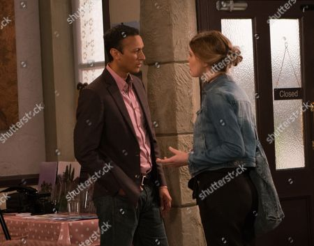 Ep 7929 Thursday 7th September 2017 - 1st Ep Upon her arrival at the photoshoot, Nell, as played by Scarlett Archer, picks up on Rishi's disapproval and Jai Sharma, as played by Chris Bisson, concedes they should maybe talk about the baby. She lashes out and storms out. Fretting he's let Nell down and realising he wants both the baby and Nell, Jai decides to put things right.