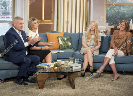 Sonia Poulton and Shona Sibary with Eamonn Holmes and Ruth Langsford