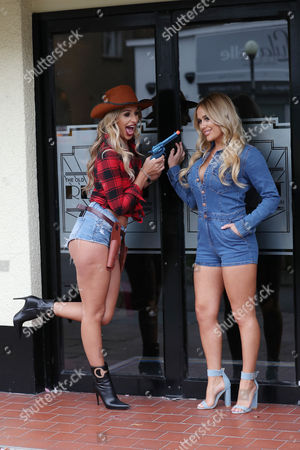 Stock Photo of Ruby Lacey & Amber Dowding